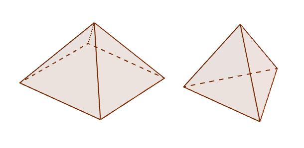 三角锥+四角锥=?